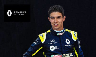 Esteban Ocon Renault 2020 kontrakt