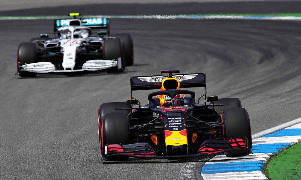 Red Bull - Mercedes - przed - GP Niemiec
