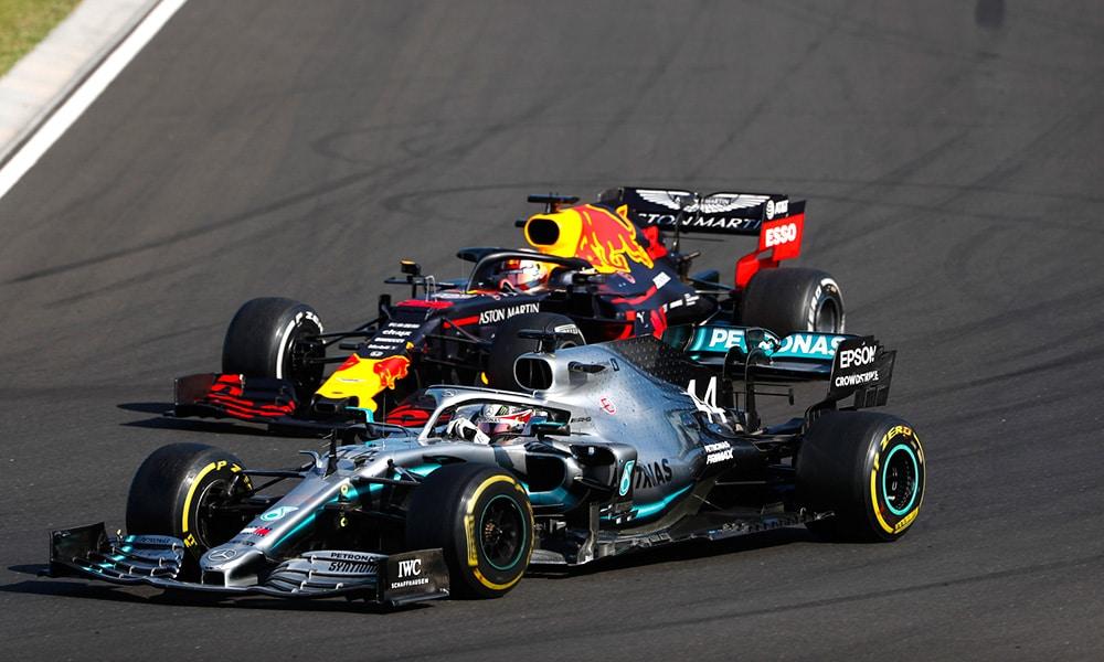 Lewis Hamilton bolidy f1 GP Węgier 2019