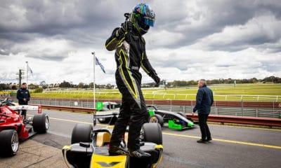 James Golding Formula S5000 2019 Sandown Race