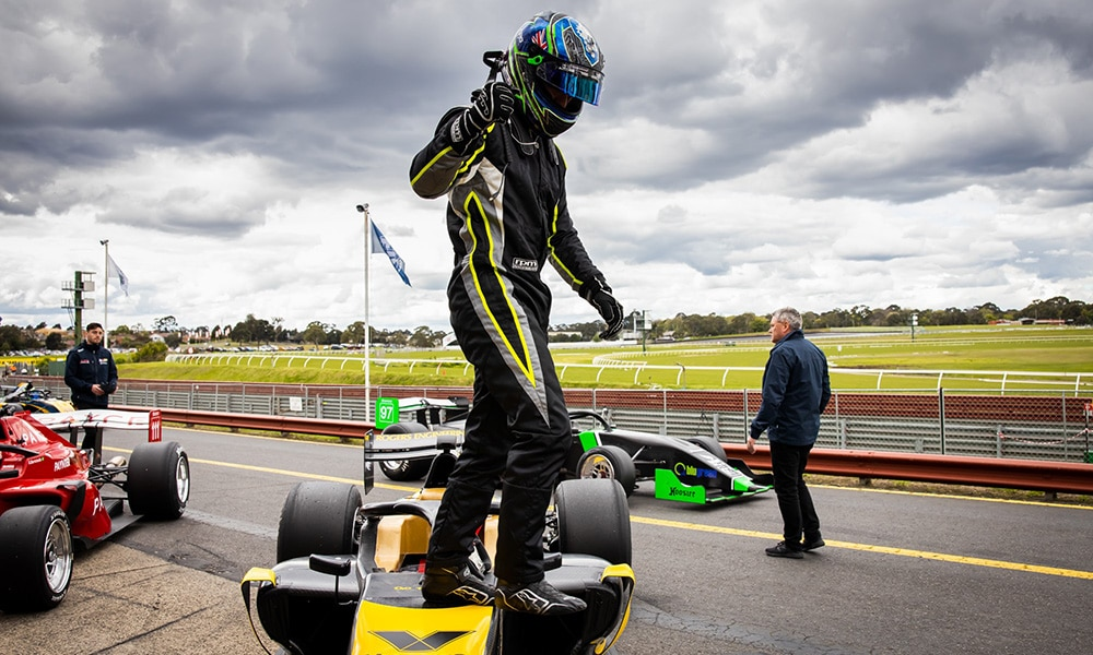 James Golding Formula S5000 2019 Sandown Race