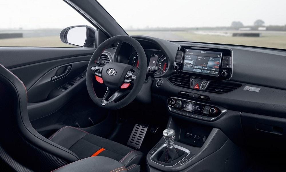 Hyundai i30 Project C - wnętrze