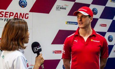 James Calado Asian Le Mans Series Twitter