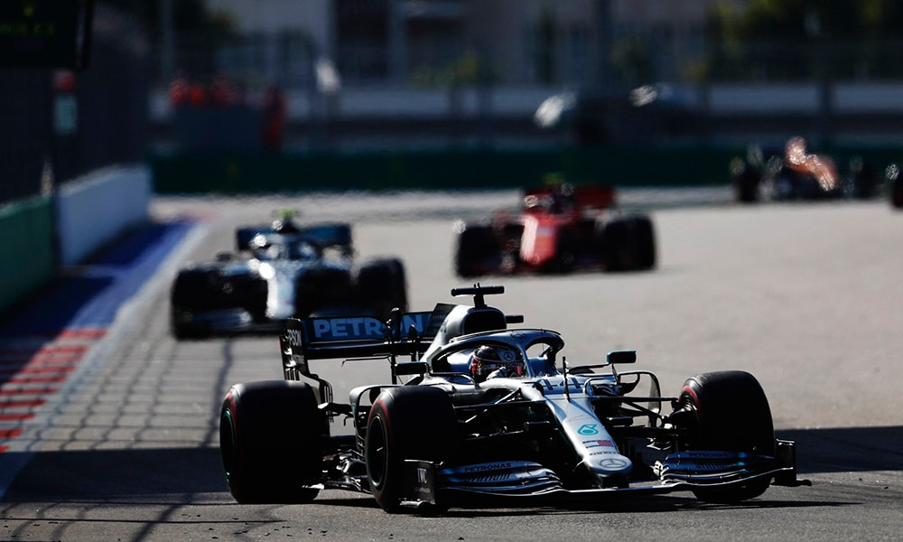 2019 GP Rosji Lewis Hamilton
