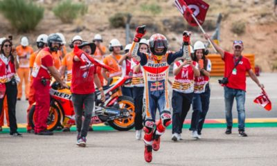 Marc Marquez GP Aragonii 2019 MotoGP Repsol Honda