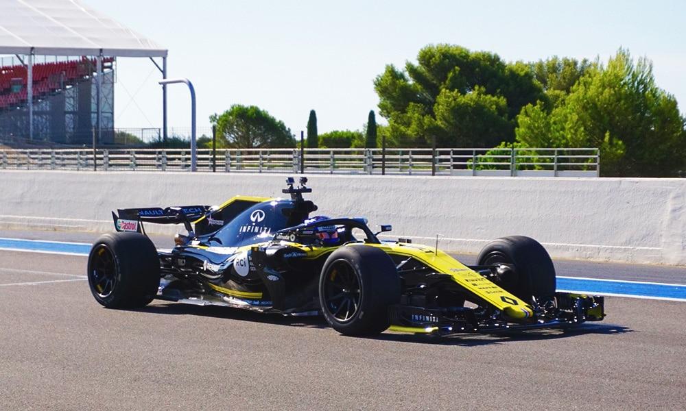 Pirelli Motorsport - Renault 2019 - Paul Ricard - 2021 test tyre - wyścig na paul ricard