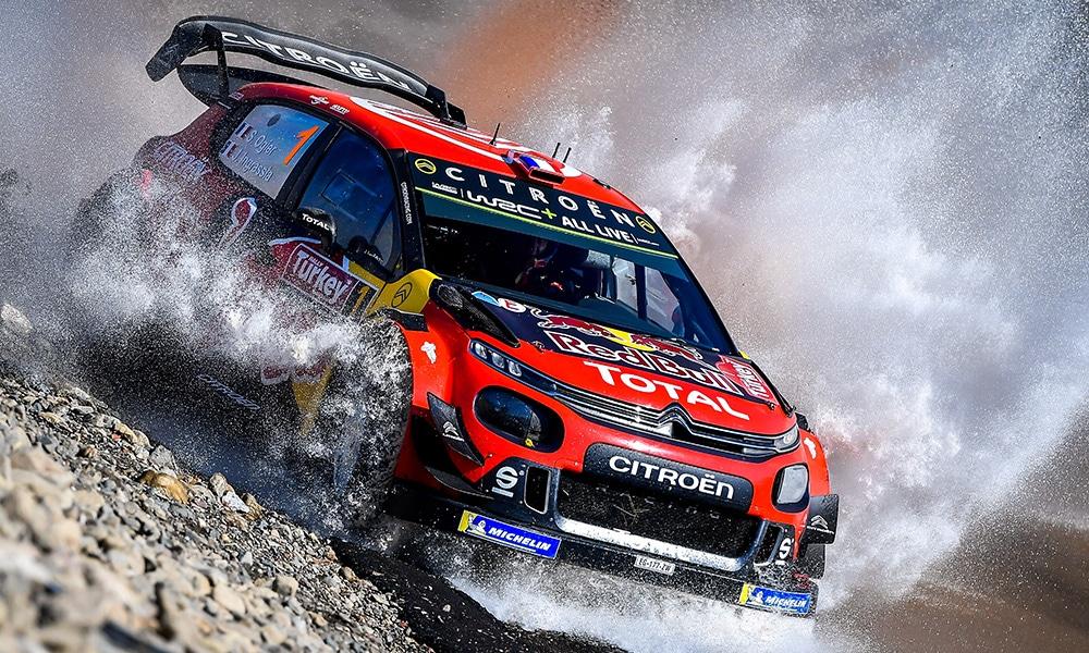 Sebastien Ogier - Citroen WRC - Rajd Turcji 2019