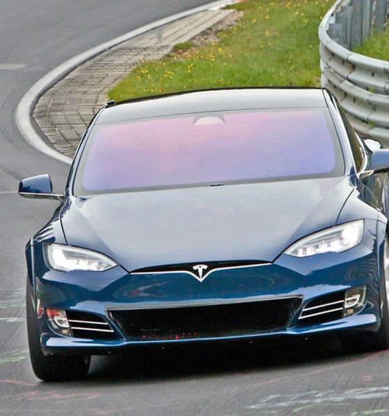 Tesla S - Nurburgring 2019