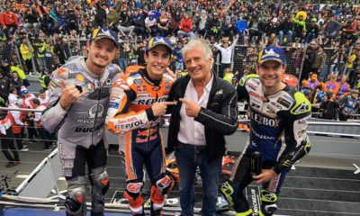 2019 GP Australii MotoGP Marquez Crutchlow Miller