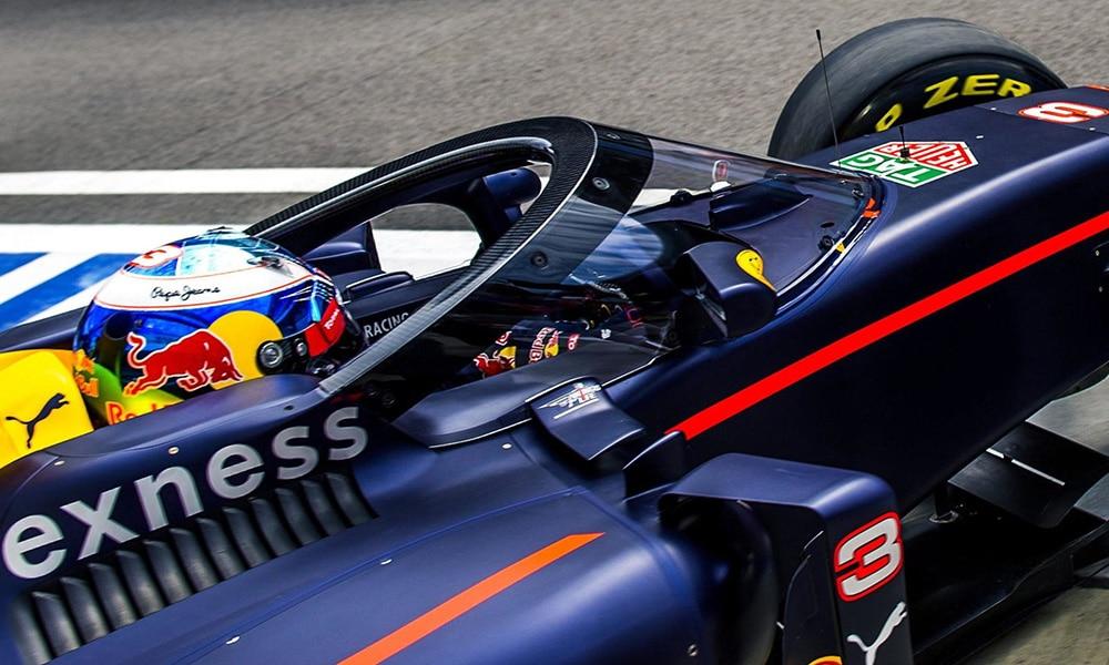 Aeroscreen 2016 GP Rosji RIcciardo test F1