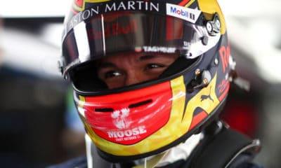 Alexander Albon GP Japonii 2019 Red Bull