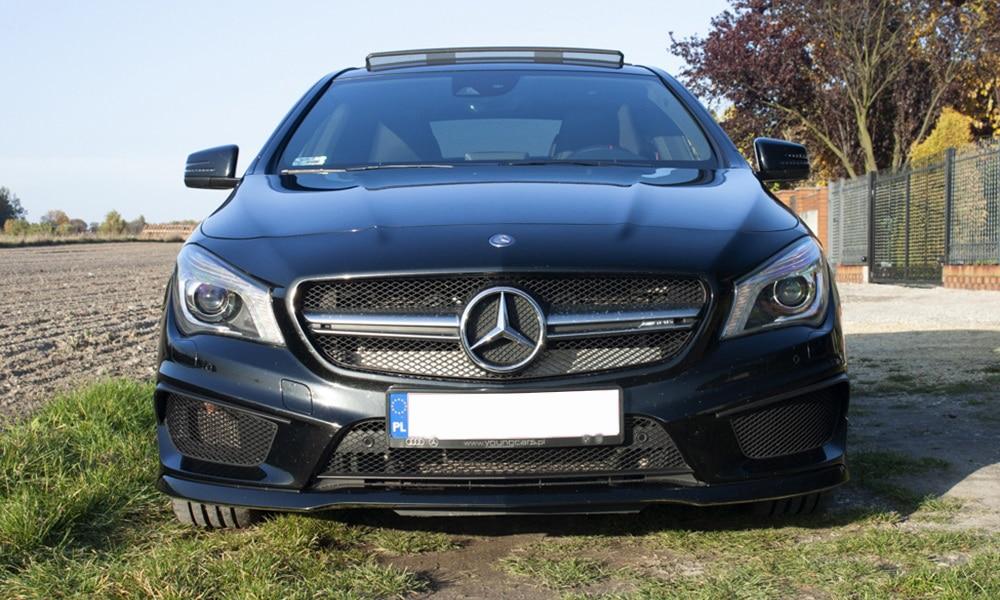 Mercedes CLA 45 AMG - przedni pas