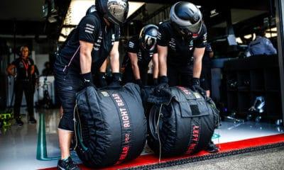 F1 koce grzewcze Mercedes