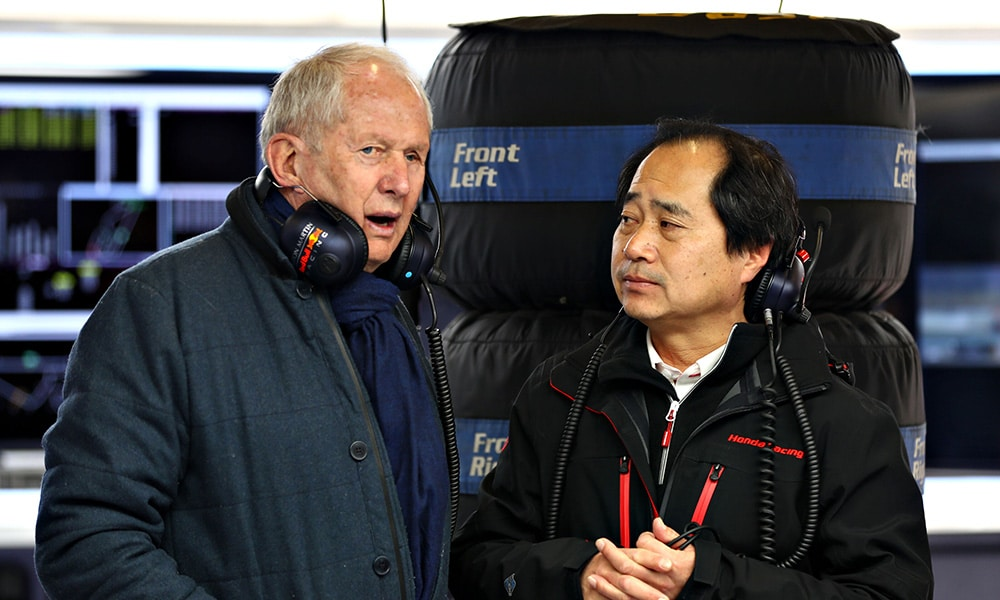 Helmut Marko Red Bull Toyoharu Tanabe Honda 2019