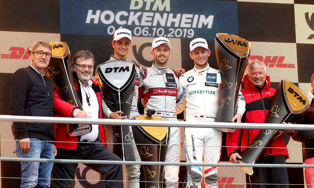 Hockenheim Finale podium wyścig 1 2019 DTM
