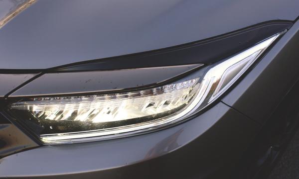 Honda HR-V Sport 2019 przedni reflektor
