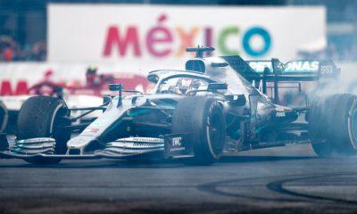 Lewis Hamilton 2019 Meksyk GP 100. triumf Mercedesa