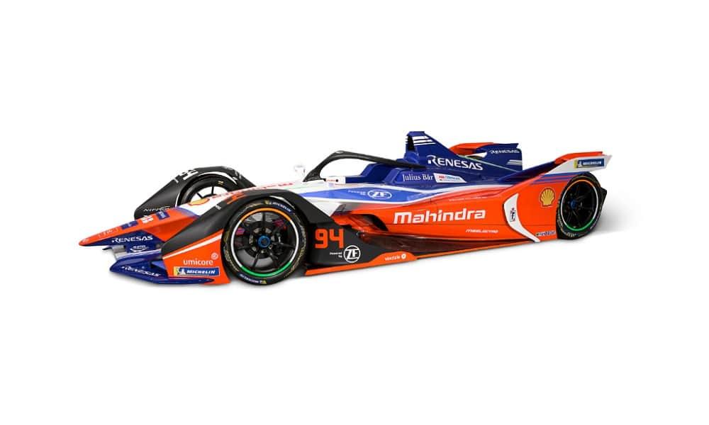 Mahindra Racing FE bolid 2020