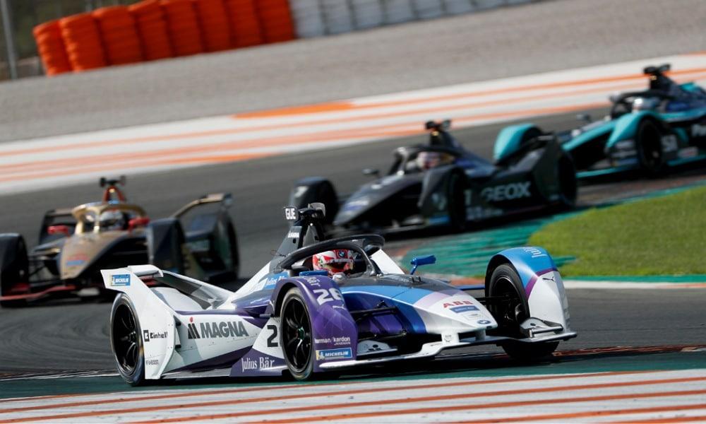 Max Günther testy FE 2019 BMW i Andretti Motorsport
