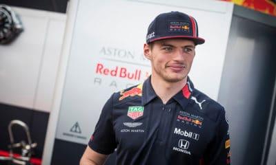Max Verstappen F1 Red Bull Racing Aston Martin Honda 2019