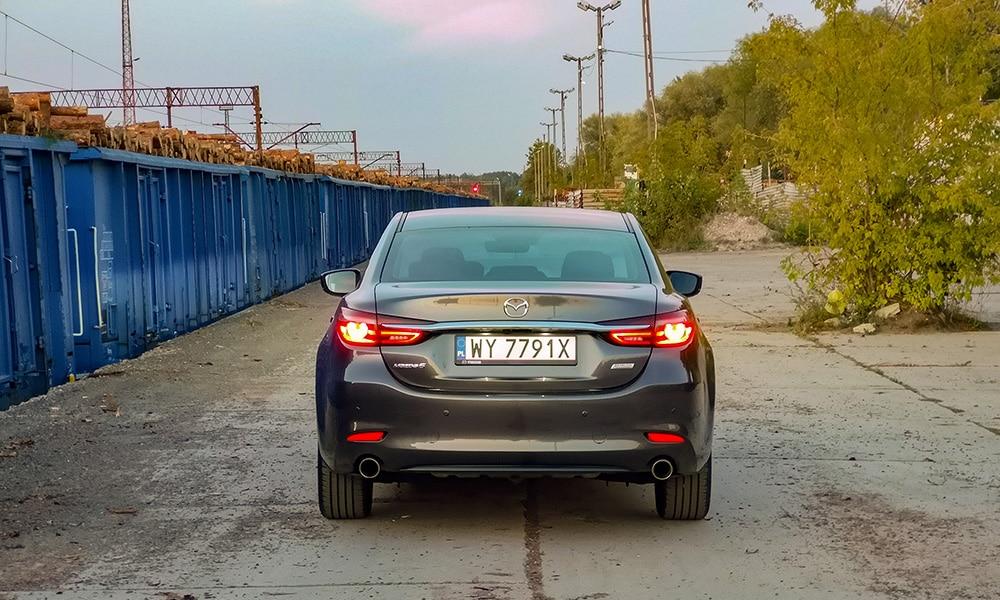 Mazda 6 tył 2