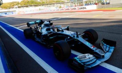 Mercedes W10 Lewis Hamilton Soczi 2019