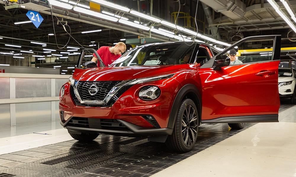 Nissan Juke produkcja 2019