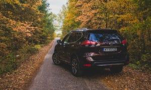 Nissan X-Trail z tyłu