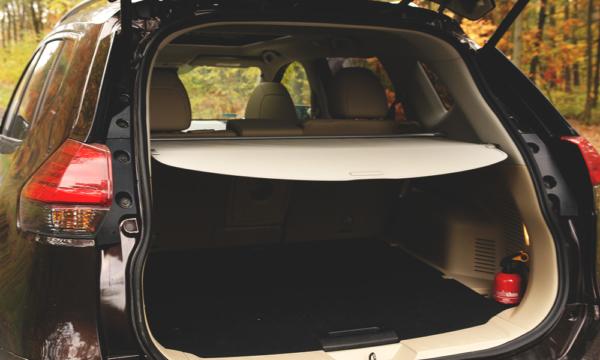 Nissan X-Trail bagażnik