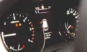 Nissan X-Trail liczniki