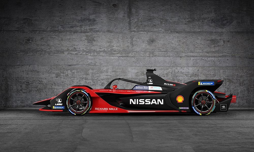 Nissan e.dams FE 2019-20 malowanie 2