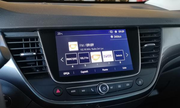 Opel Crossland X 2019 Diesel multimedia