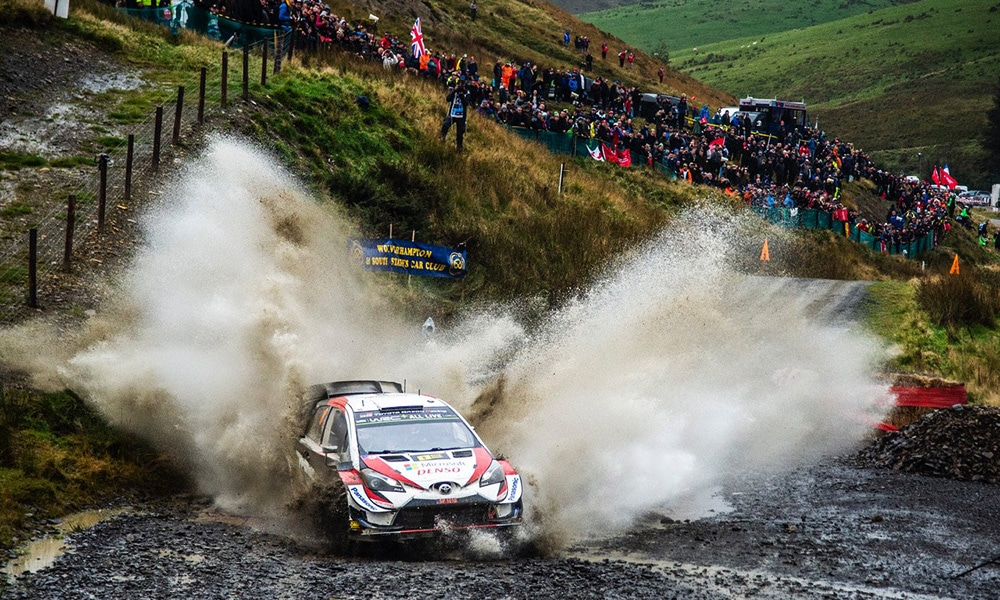 Ott Tänak Toyota WRC Rajd WIelkiej Brytanii 2019