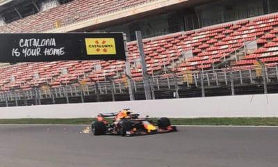 Pirelli Motorsport Alex Albon 2019 test opon 2020