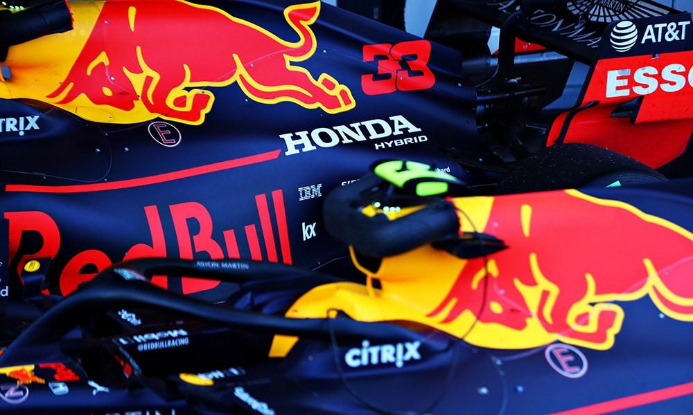 2019 GP Rosji Red Bull Honda