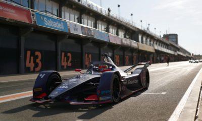 Robin Frijns Formula E test 2019-20