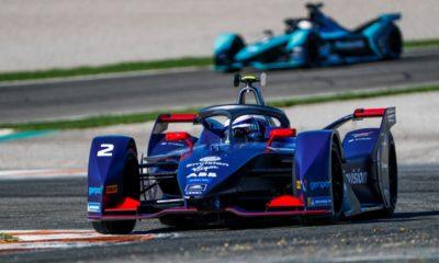 Sam Bird Formula E 2019-20 Envision Virgin Racing malowanie Ricardo Tormo Walencja test