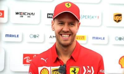 Sebastian Vettel GP Japonii 2019 F1