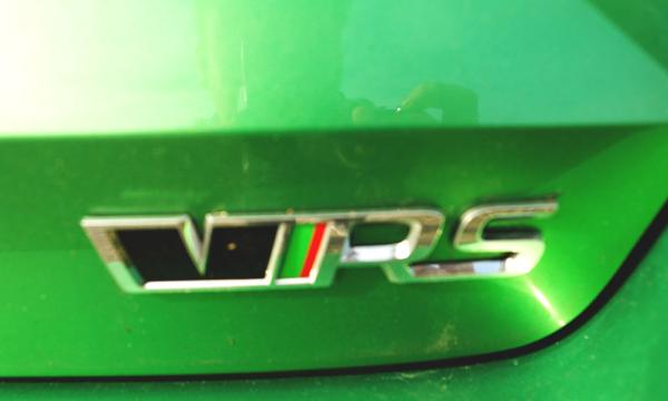 Škoda Octavia RS (2019) znak RS