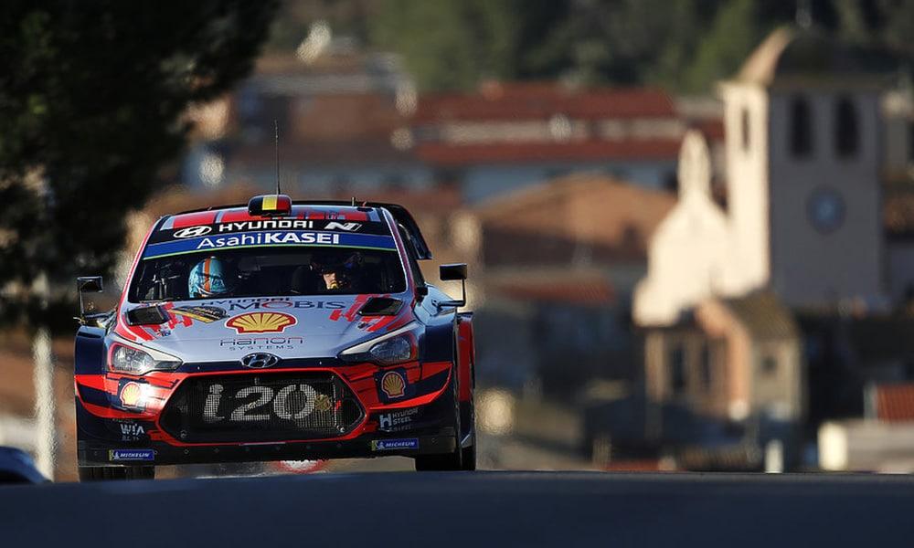 Thierry Neuville Hyundai Rajd Katalonii 2019