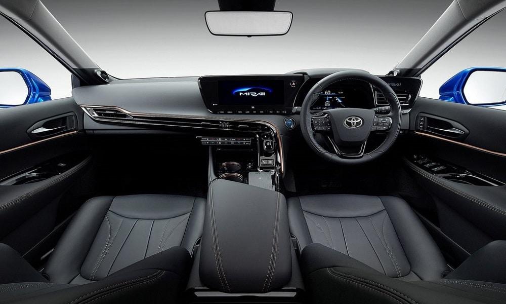 Toyota Mirai Concept - wnętrze