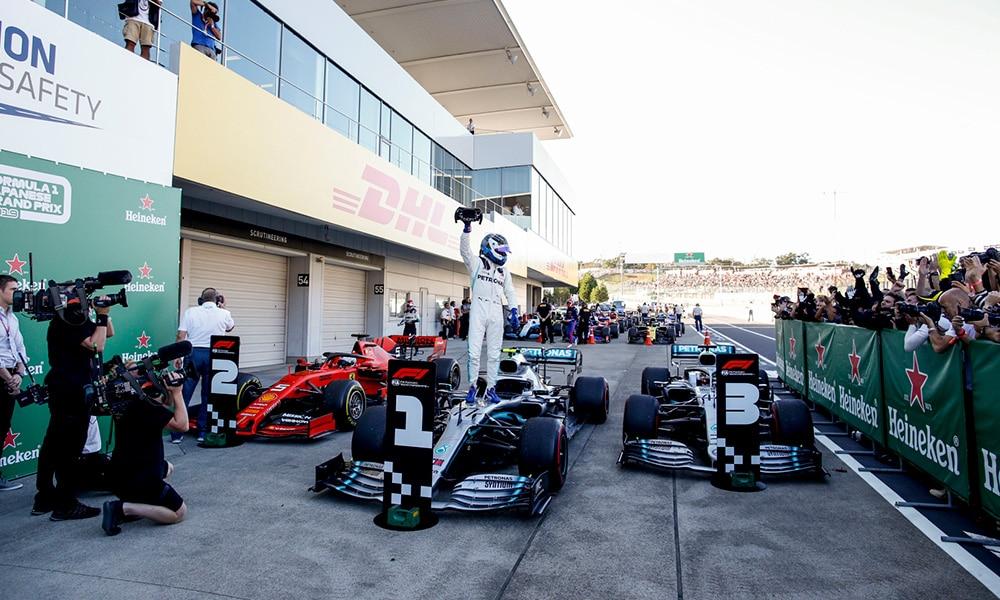 Valtteri Bottas Mercedes GP Japonii 2019