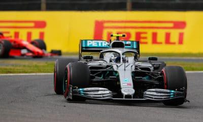 Valtteri Bottas Piątek treningi GP Japonii 2019 Mercedes