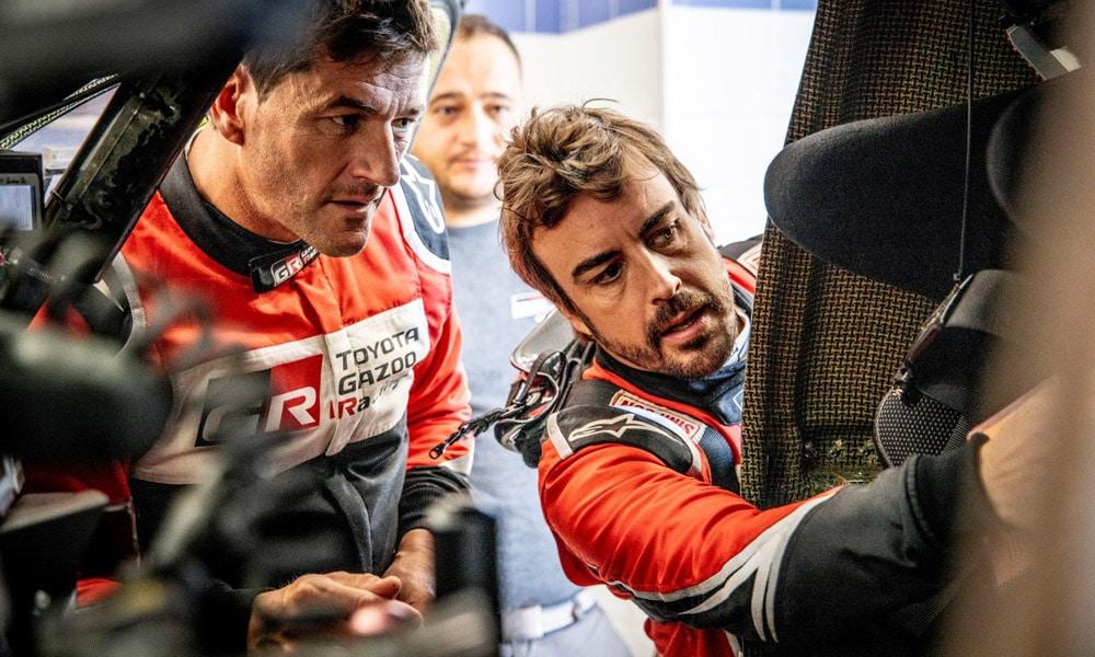 Fernando Alonso i Marc Coma - Toyota Gazoo Racing