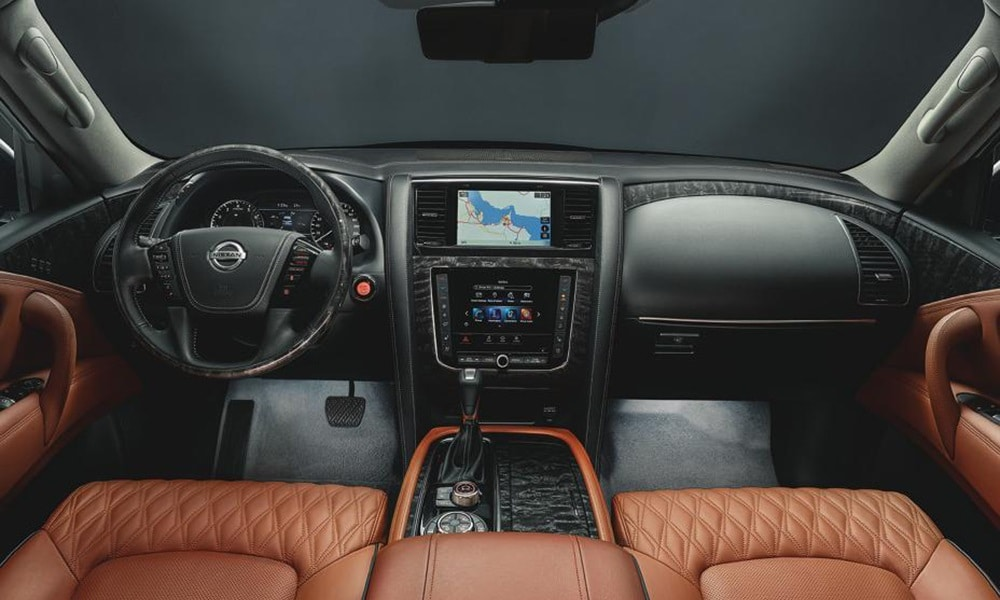 Nissan Patrol - wnętrze