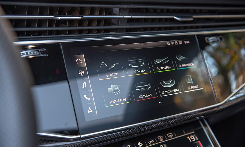 Audi Q7-SQ7 multimedia