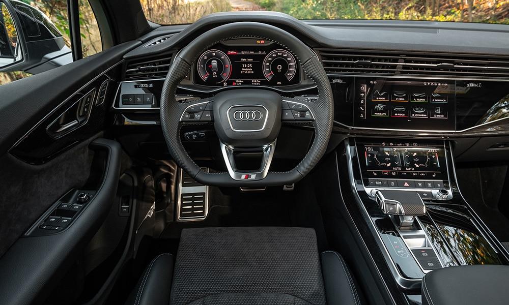 Audi Q7-SQ7 wnętrze