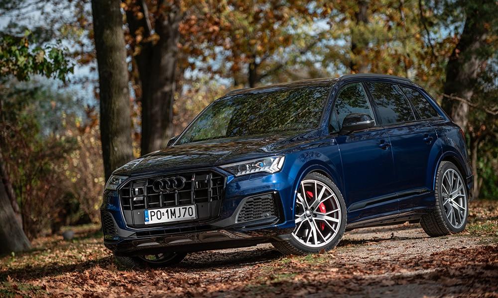 Audi Q7 przód 2