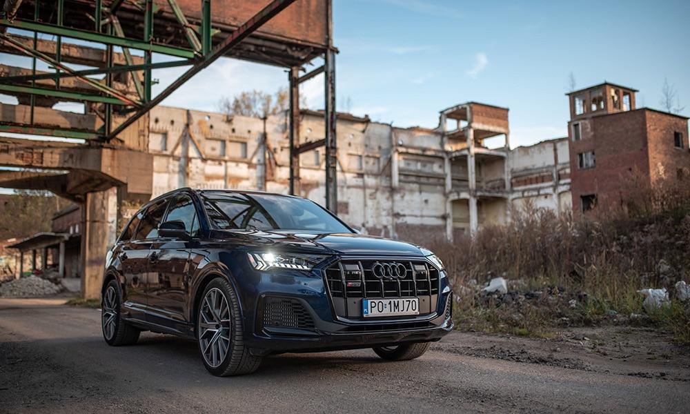Audi Q7 przód 3