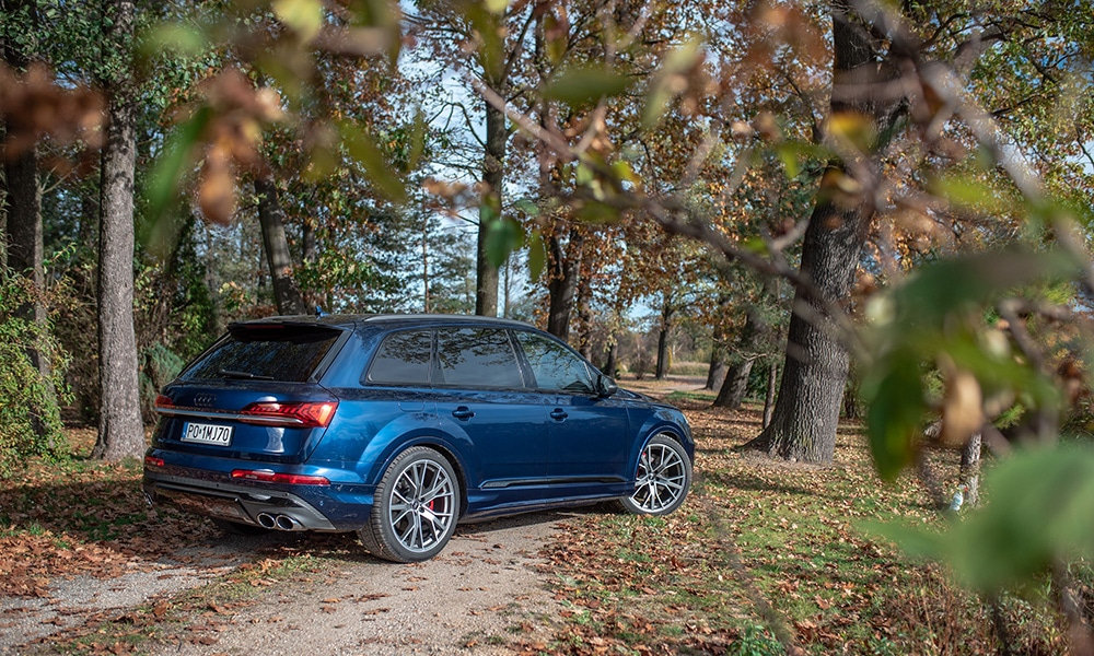 Audi Q7 tył 3